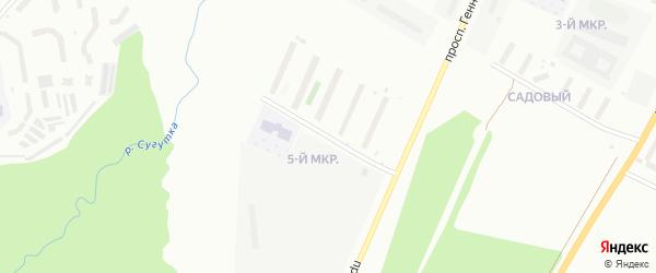 Улица Академика В.Н.Челомея на карте Чебоксар с номерами домов