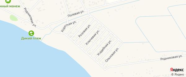 Территория сдт Прибой на карте Чебоксар с номерами домов