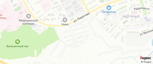 Территория сдт Свобода на карте Чебоксар с номерами домов