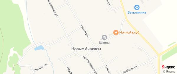Новая улица на карте выселков Чинквары с номерами домов