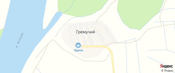 Огородная улица на карте Гремучего поселка с номерами домов