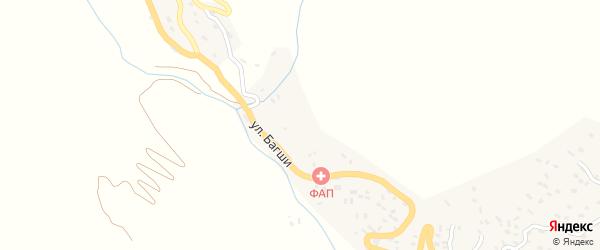 Улица Багши на карте села Аметеркмахи с номерами домов