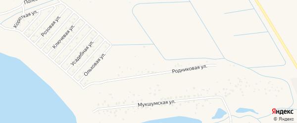 Территория сдт Волгарь на карте Чебоксар с номерами домов