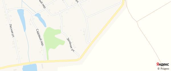 Солнечная улица на карте деревни Новые Ачакасы с номерами домов