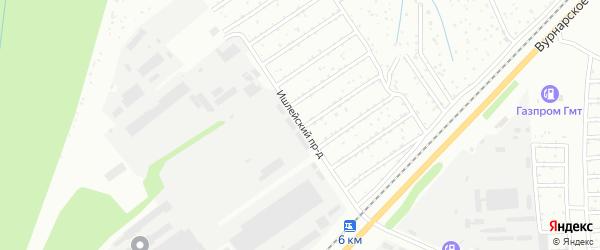 Ишлейский проезд на карте Чебоксар с номерами домов