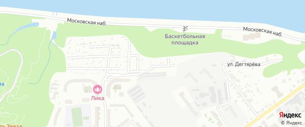 Территория сдт Водоканалец на карте Чебоксар с номерами домов
