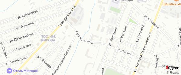 Улица Левая Набережная Сугутки на карте Чебоксар с номерами домов