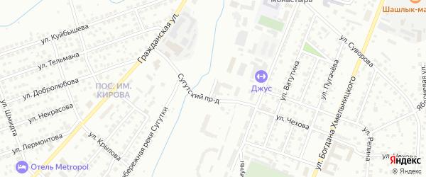 Улица Правая Набережная Сугутки на карте Чебоксар с номерами домов
