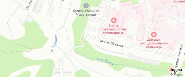 Улица Луки Спасова на карте Чебоксар с номерами домов