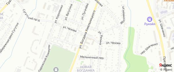 Улица Чехова на карте Чебоксар с номерами домов