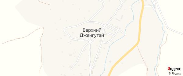 Улица Дахадаева на карте села Верхнего Дженгутая с номерами домов