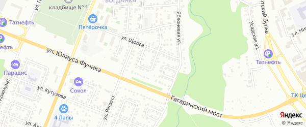 Улица Кольцова на карте Чебоксар с номерами домов