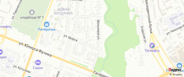Улица Павлика Морозова на карте Чебоксар с номерами домов