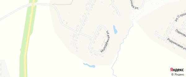 Молодежная улица на карте деревни Сятракасы (Лапсарского с/п) с номерами домов
