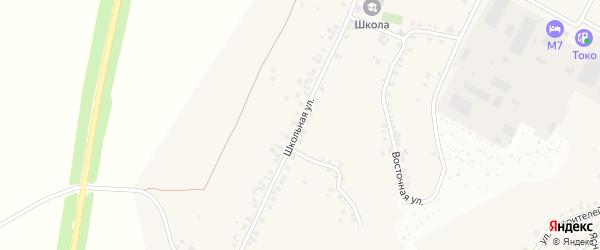 Школьная улица на карте деревни Сятракасы (Лапсарского с/п) с номерами домов