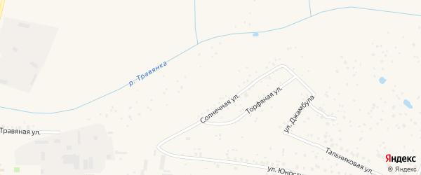 Территория сдт Травянка-2 на карте Чебоксар с номерами домов
