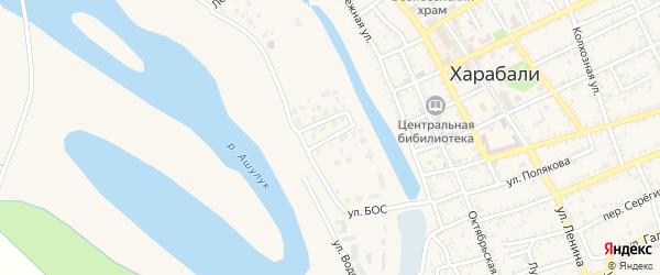 Улица Вавилова на карте Харабали с номерами домов