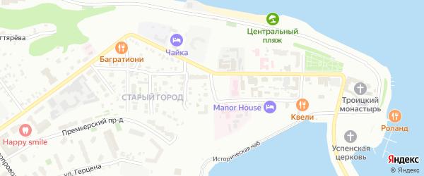 Улица Свердлова на карте Чебоксар с номерами домов