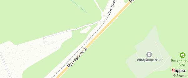 Вурнарское шоссе на карте Чебоксар с номерами домов