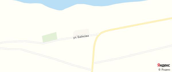 Улица им Байкова на карте поселка Буруны с номерами домов