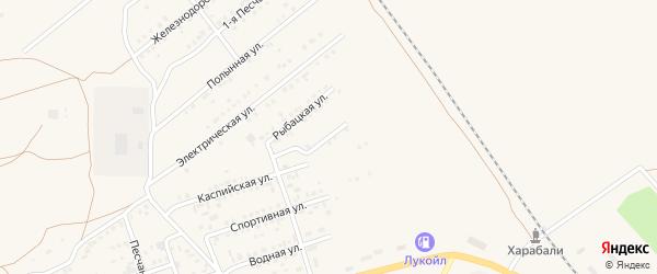 Фестивальная улица на карте Харабали с номерами домов