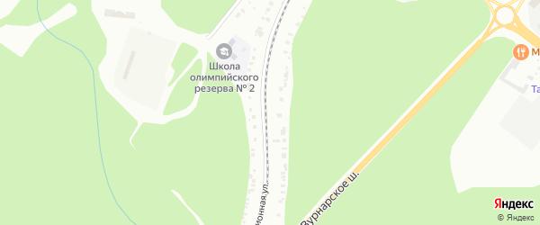 Территория сдт Путеец на карте Чебоксар с номерами домов