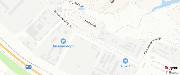 Лапсарский проезд на карте Чебоксар с номерами домов