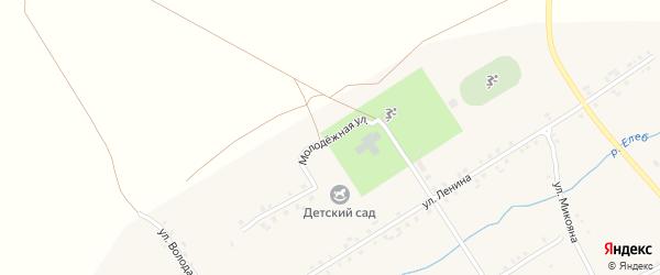 Школьная улица на карте села Хормалы с номерами домов