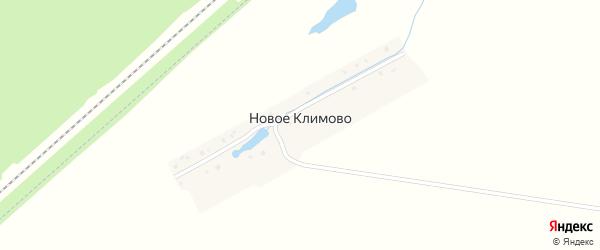 Улица Ленина на карте деревни Новое Климово с номерами домов