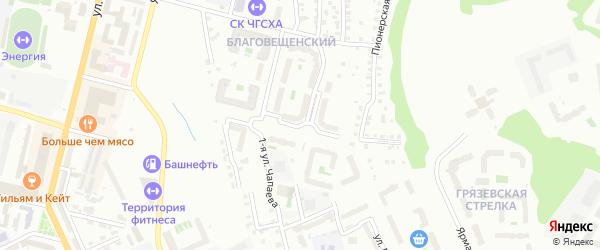 Улица Николая Смирнова на карте Чебоксар с номерами домов