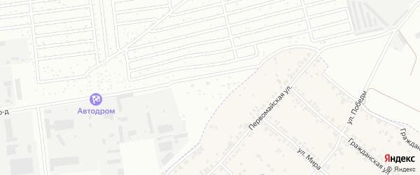 Территория сдт Маяк на карте Чебоксар с номерами домов