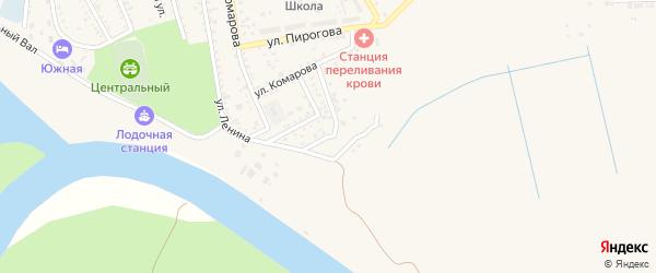 Южная улица на карте Харабали с номерами домов