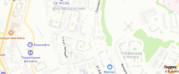 Улица Николая Рождественского на карте Чебоксар с номерами домов