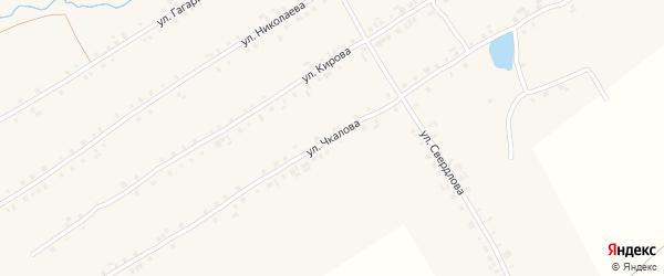 Улица Чкалова на карте села Хормалы с номерами домов