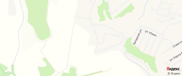 СТ Иволга-2 на карте Кугесьского сельского поселения с номерами домов