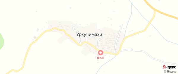 Улица Муртазалиева на карте села Урхучимахи с номерами домов