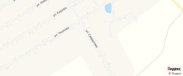 Улица Свердлова на карте села Хормалы с номерами домов