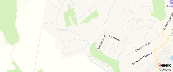 СТ Илем (Кугесьского с/п) на карте Кугесьского сельского поселения с номерами домов