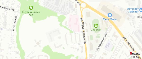 Хлебозаводская улица на карте Чебоксар с номерами домов