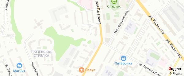 Улица Мопра на карте Чебоксар с номерами домов
