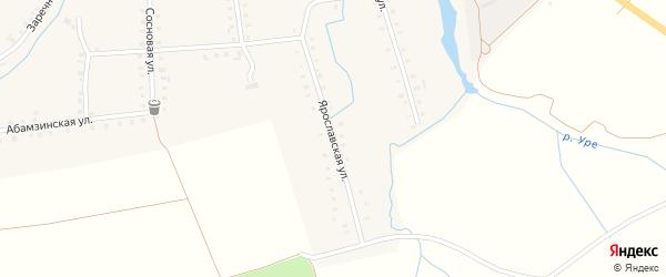 Ярославская улица на карте деревни Сигачи с номерами домов