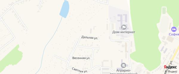 Дальняя улица на карте поселка Кугеси с номерами домов