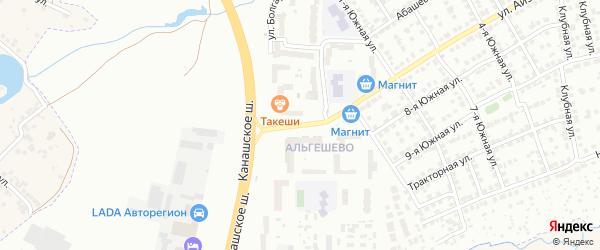 Улица Розы Люксембург на карте Чебоксар с номерами домов