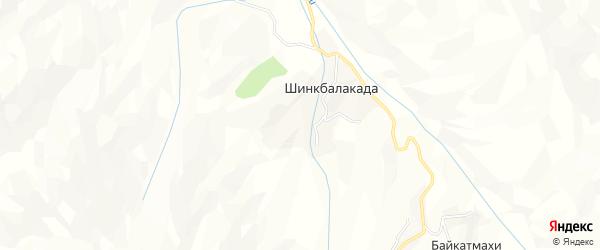 Карта села Дубримахи в Дагестане с улицами и номерами домов