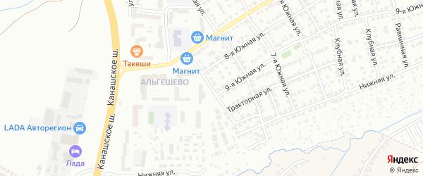 Улица Гоголя на карте Чебоксар с номерами домов