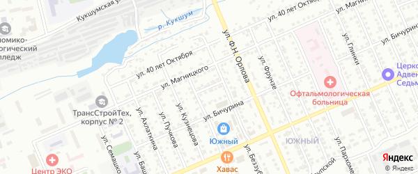 Северный проезд на карте Чебоксар с номерами домов