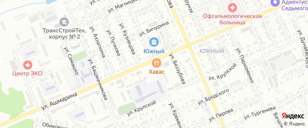 Переулок Кременского на карте Чебоксар с номерами домов