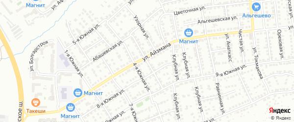 Кугесинская улица на карте Чебоксар с номерами домов