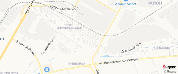 СТ Радуга (Атлашевского с/п) на карте Атлашевского сельского поселения с номерами домов