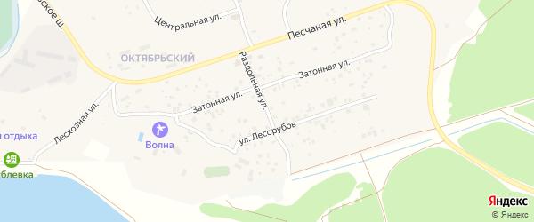 Раздольная улица на карте Чебоксар с номерами домов